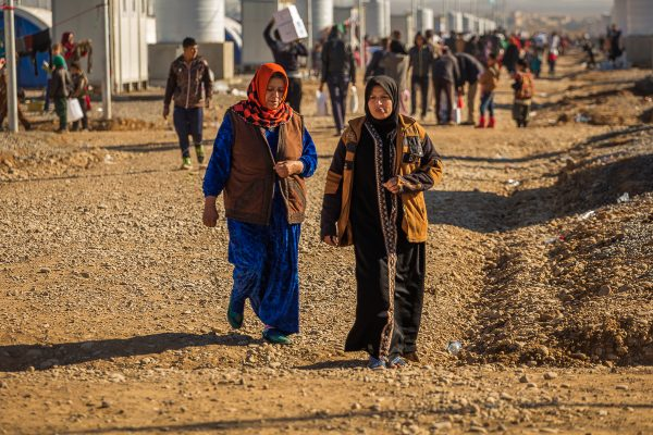 Livet i en flygtninglejer