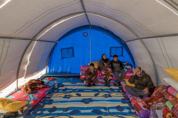 Flygtningenes nye hjem