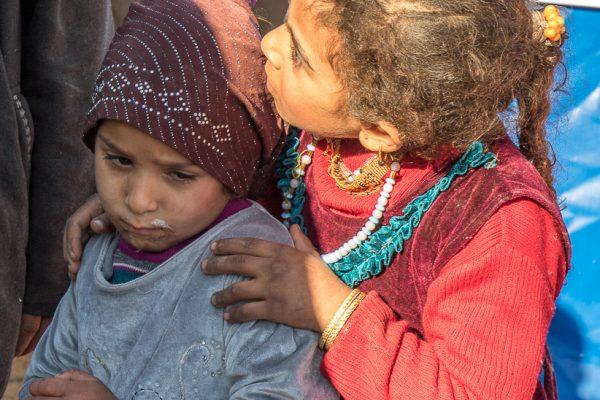 flygtningbørn fra Mosul