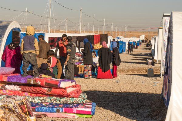 Flygtninge flytter ind