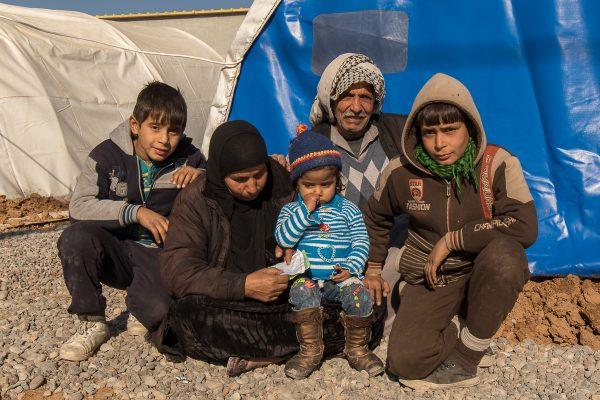 Flygtninge fra Mosul