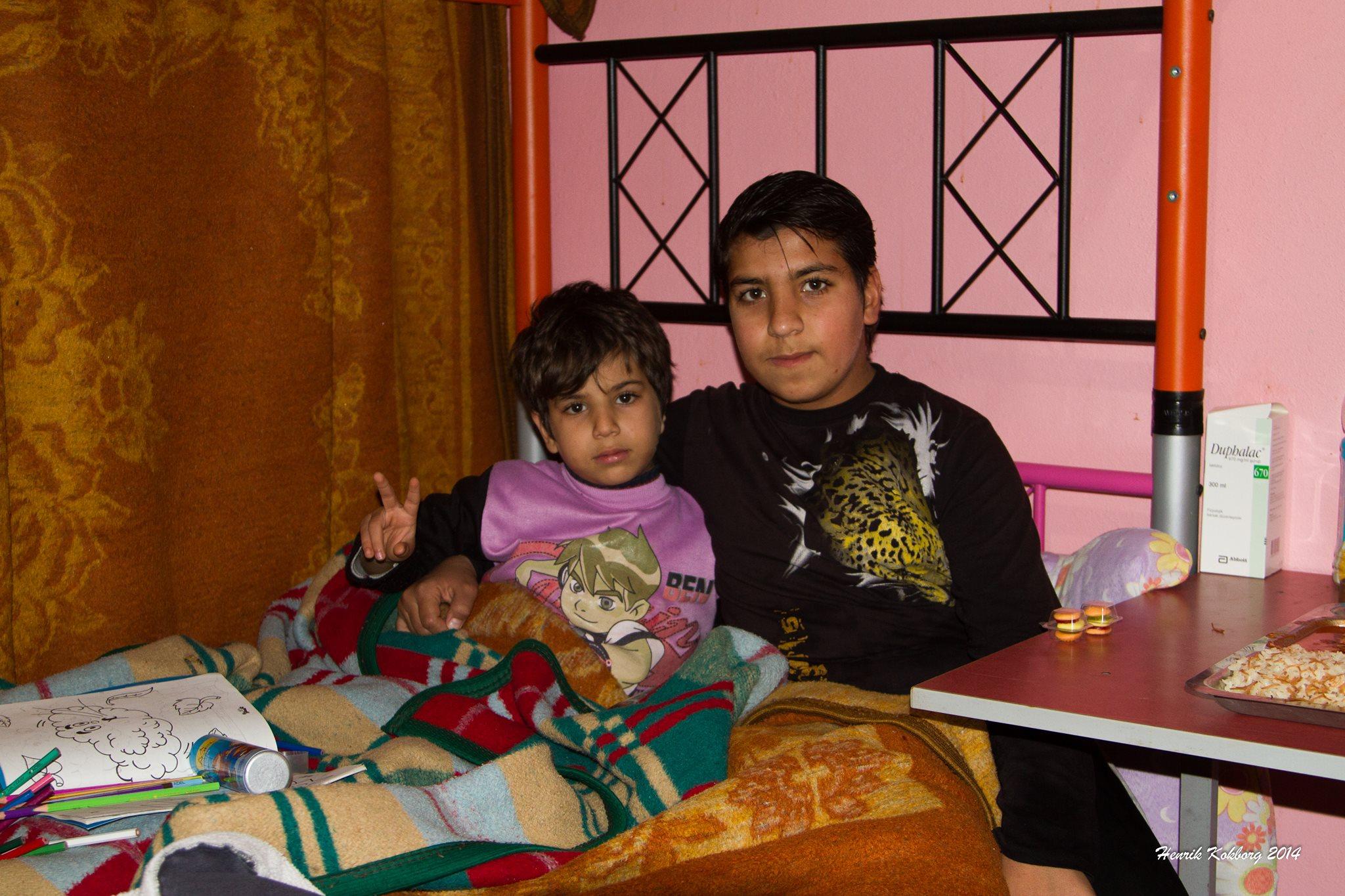 En barsk dag, ved den syriske grænse. 16. januar 2014: