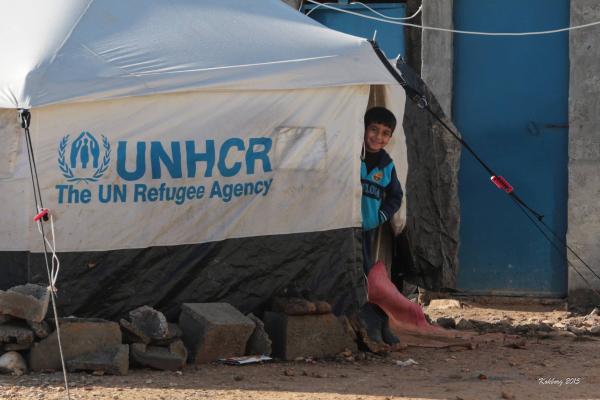 Swar´s bror Mohammed og familiens telt