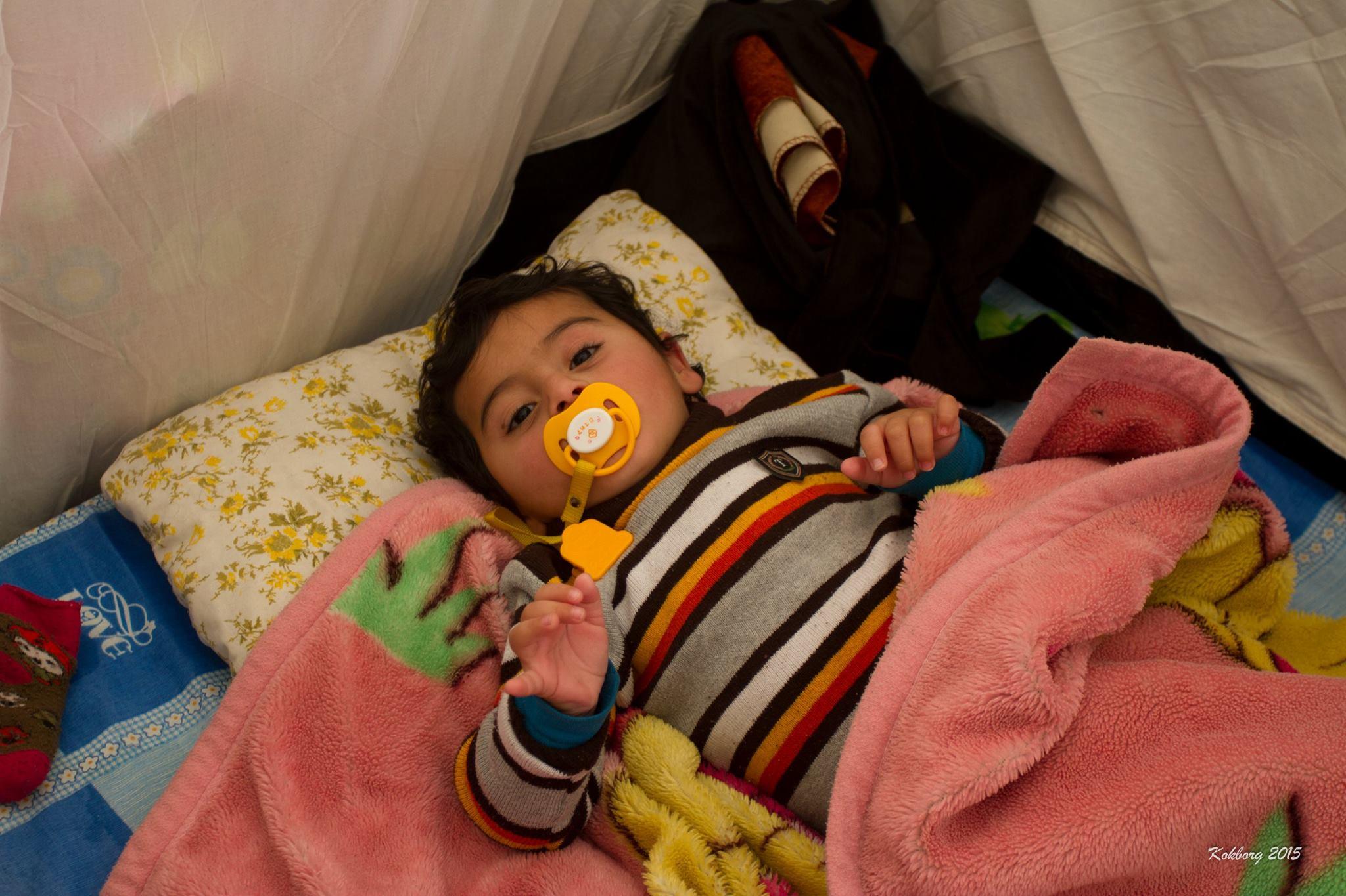 Mødet med 2 årige Swar og hendes familie i Nordirak