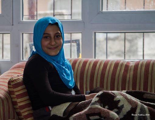 Tagred, blev ramt af en bombe. 11. januar 2014