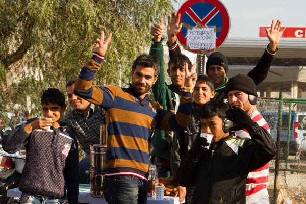 Menneskesmuglere ved den syriske grænse