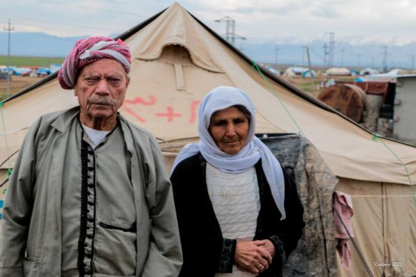 Yazidi flygtninge i Dohuk