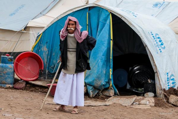 Gammel Yazidi mand
