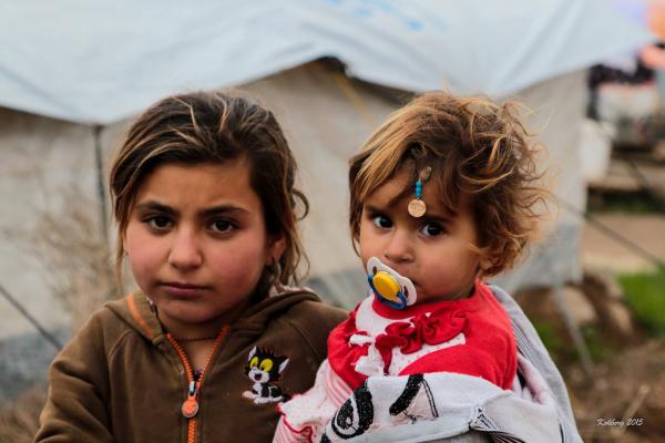Yazidi pige i lejer