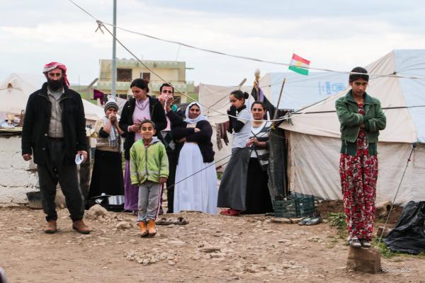 Yazidi familie i Dohuk