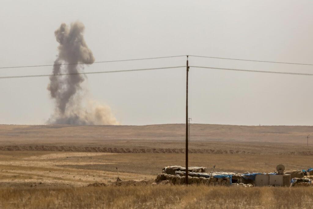 Islamisk Stat bombes