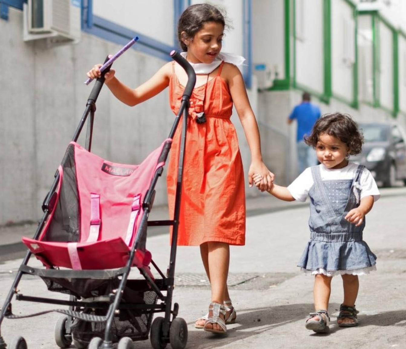 Småbørn med minoritetsbaggrund